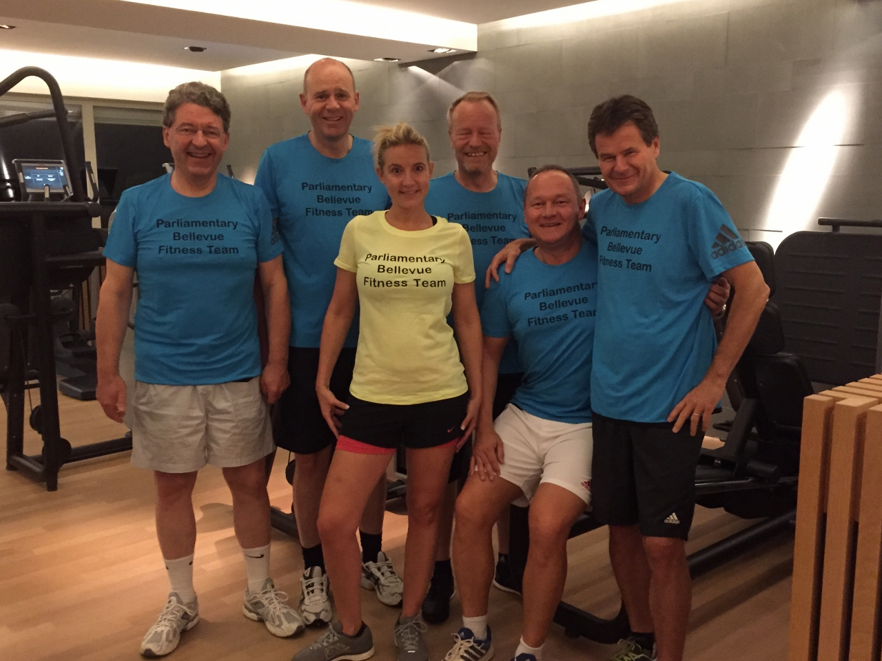 Parliamentary Bellevue Fitness Team